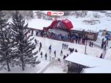 В Красноярске открылся самый большой каток в городе