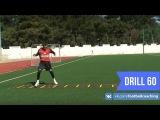 Football coaching video - soccer drill - ladder coordination (Brazil) 60