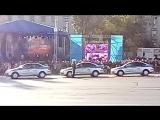 Группа ДПС Каскад на День города в Курске.