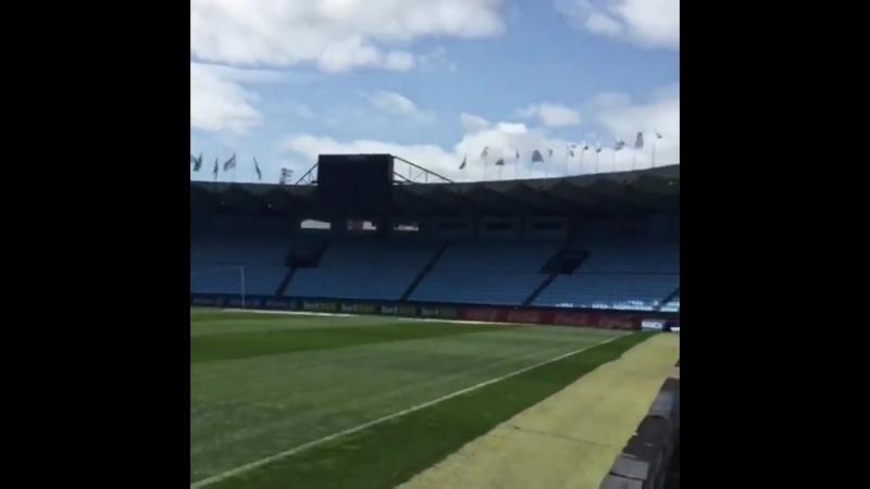 Стадион Сельты перед матчем с Барселоной 17 04 2018