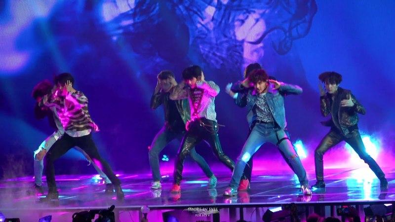 180520 BTS(방탄소년단) Fake Love Full Performance @ BBMAs 2018 Fancam 4K