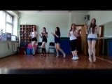AOA - Like a cat cover by OBSESSION (весна 2015)