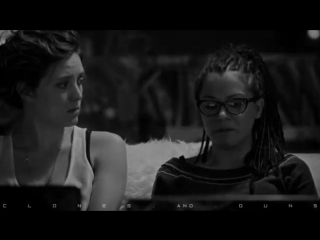 Cosima and Delphine 4x10 I Found Orphan Black