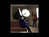 Трейлер минифильма «Как проходит съёмка» у Тины Волковой ???