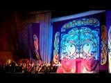 Отрывки из Новогоднего выступления Евгения Южина и Юлии Снежиной