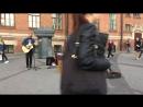 кавер Evanescence - My Immortal (The Railroads, уличные музыканты, Питер)