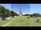 Британка притворяется мертвой на фотографиях