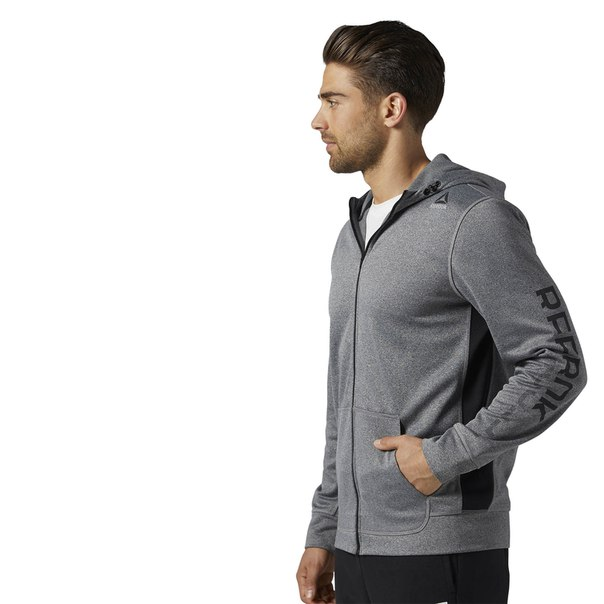 Худи Workout Ready Graphic Full Zip Fleece
