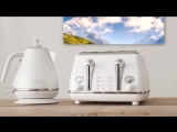 Icona Elements Breakfast Collection (Cloud White) by DeLonghi