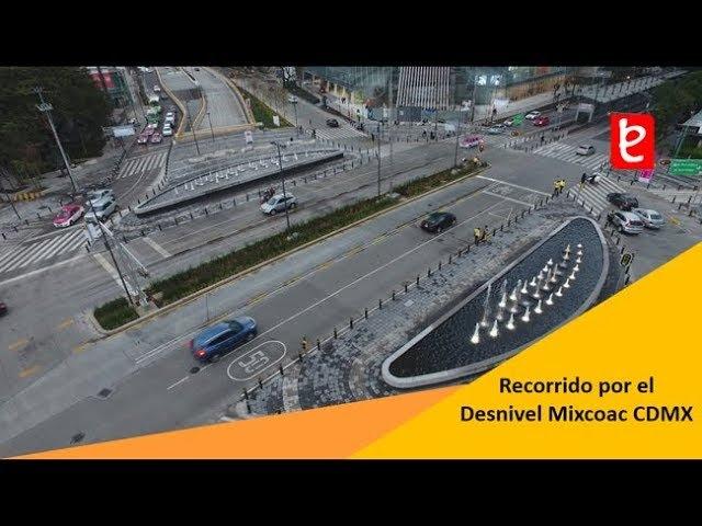 Mexico Recorrido por el Desnivel Mixcoac Insurgentes CDMX