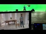 Технология Хромакей - вот так снимают и видео на МКС