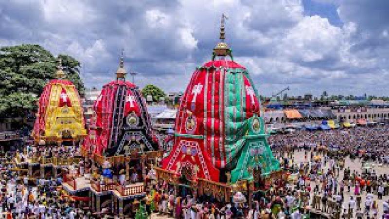 Jagannatha Rath Yatra in Puri-India largest Chariot festival in world,HUGE CROWD, INTERNATIONAL NEWS