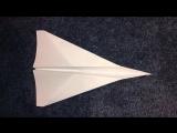 Как собрать бумажный самолётик за минуту