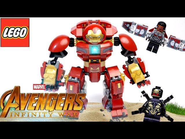 LEGO Marvel 76104 Бой Халкбастера Обзор Avengers Infinity War The Hulkbuster Smash-Up