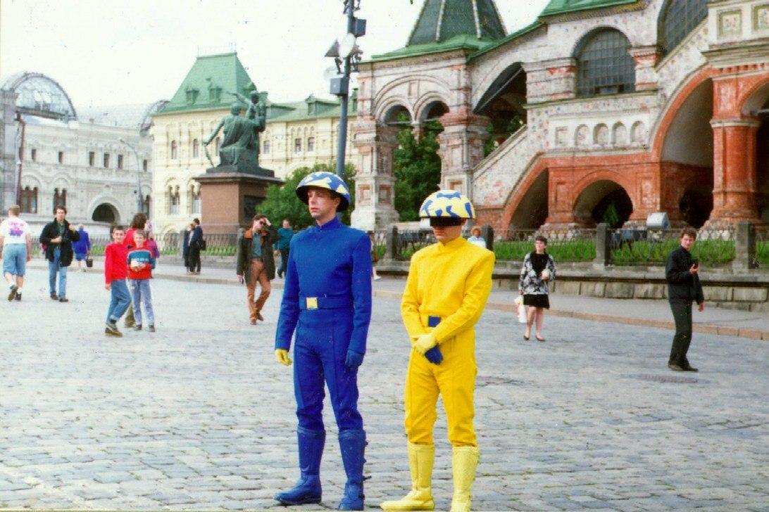 Pet Shop Boys на Красной Площади, 1993 год.