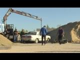 Как проходят съёмки автошоу «Утилизатор»