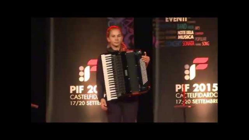PIF2015 | Premiazione Categoria D ed esibizione della vincitrice Anna Kryshtaleva