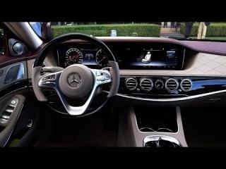 Новый Mercedes S-Class 2018 почти Maybach
