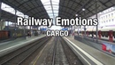 From south to north Cargo Cab Ride Switzerland Brig Basel Part 2