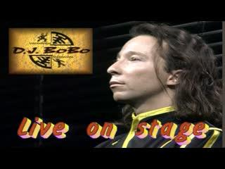 Dj bobo - live on stage (1995)