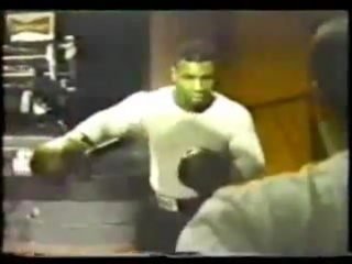 Mike Tyson daily training routine