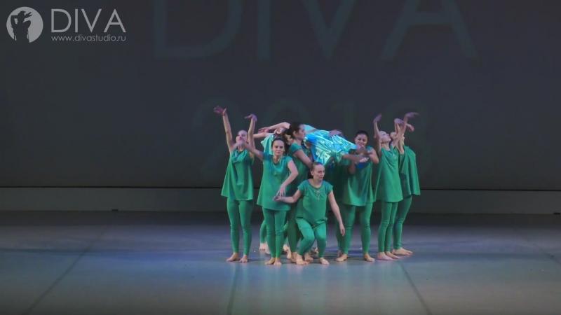Контемпорари (Contemporary dance), номер Легенда об Изольде, хореограф Ольга Завиялова