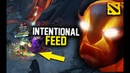 How Intentional Feeding Won Him The Game with Ember Spirit, Crazy Game Dota 2