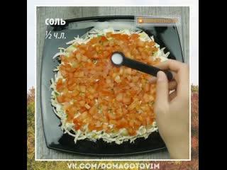 """Салат """"красные маки"""".  Простой и полезный рецепт. Как же аппетитно выглядит."""