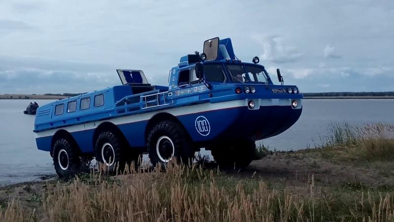 Коcмонавты сели в лужу на Южном Урале. Операция по спасению.