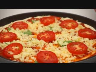Пицца 3 начинки!  Тонкое Тесто как в пиццерии! Легкий рецепт
