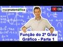 Função do Segundo Grau Função Quadrática Gráfico Parábola Aula 5 de 9