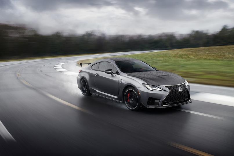 Обновленный Lexus RC F и трековая версия из карбона, изображение №8