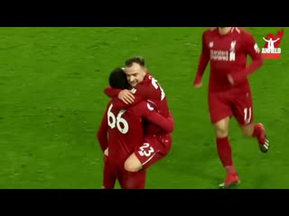 Trent alexander-arnold - all 12 assists in the league 2018_19