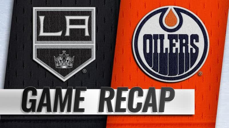 НХЛ - регулярный чемпионат. «Эдмонтон Ойлерз» - «Лос-Анджелес Кингз» - 8:4 (5:1, 2:3, 1:0)