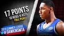 RJ Barrett Full Play 2019.07.09 Knicks vs Raptors - 17 Pts, 10 Rebs, 6 Asts! | FreeDawkins