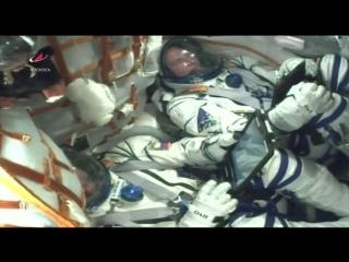 Во время старта ракеты Союз к МКС произошла авария носителя