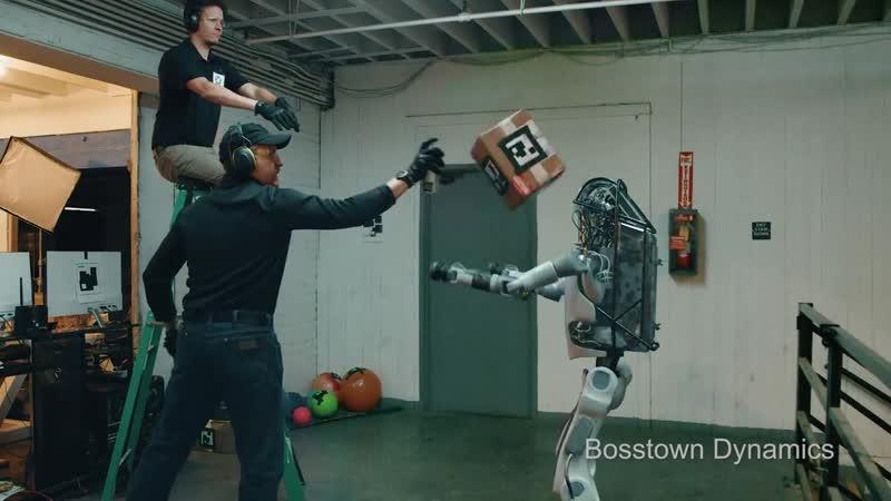 Boston Dinamics android