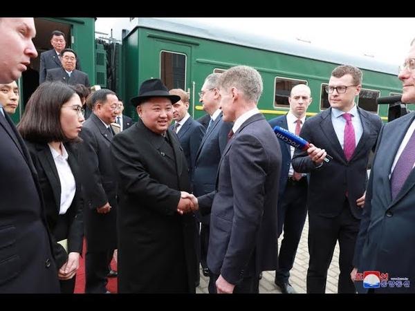 DPRK TV 조선민주주의인민공화국 로씨야련방을 정상회담은 Russia DPRK summit Саммит Россия КНДР 25 04 108 2019