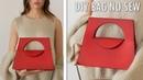 DIY ADORABLE HANDBAG TUTORIAL NO SEW Cute Purse Bag Tote Idea