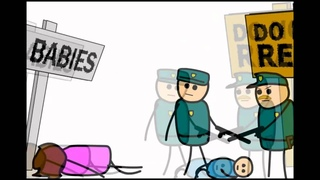 Classic Cyanide and Happiness - The Sign Part 2 (Русский дубляж)