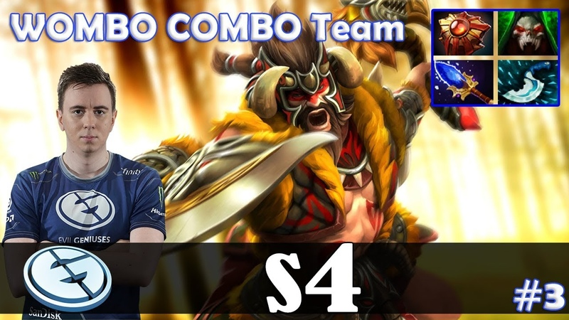 S4 - Beastmaster Offlane | WOMBO COMBO Team | Dota 2 Pro MMR Gameplay 8