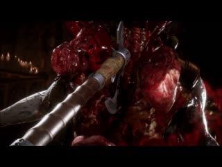 Mortal Kombat 11 все фаталити и победные позы за Ночного волка
