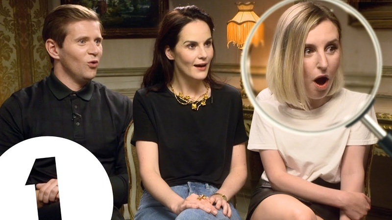 No way! Cluedo! The Downton Abbey cast on surprising merch and murdering each other