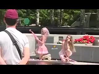 Танцы на Монументе Славы
