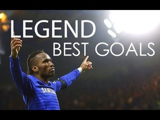 Didier Drogba - The Legend - Best Goals For Chelsea FC - HD