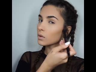 Потрясающий макияж для карих глаз