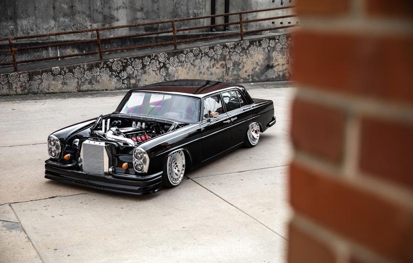 Mercedes-Benz W108 с турбированным 5.3-литровым LS, изображение №16