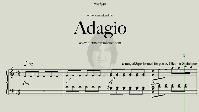 Adagio - my Version of the Adagio by J.S.Bach/Marcello