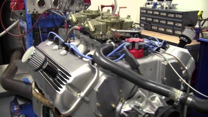 Tom Fry's 427 SOHC Cammer 740HP Dyno Pull QMP Racing