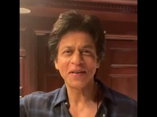 Humbled by your kind words shah rukh khan. lots of love right back at you